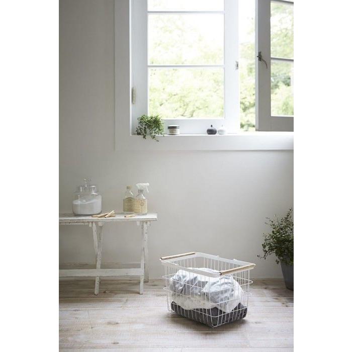 Laundry Basket S Tosca   White
