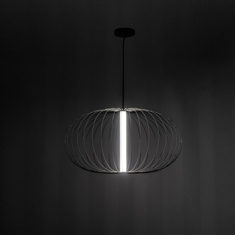LED-Pendelleuchte LA142N   Schwarz