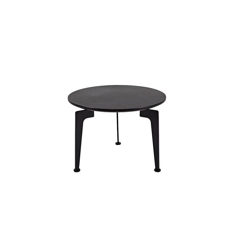 Laser Side Table Black   Medium