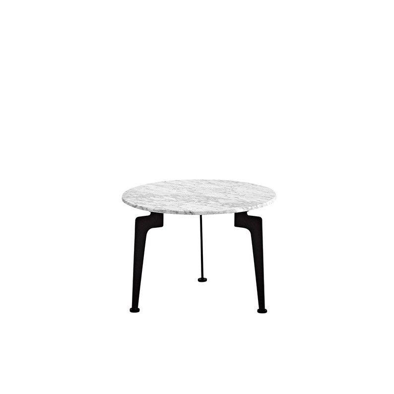 Laser Side Table Marble | Medium