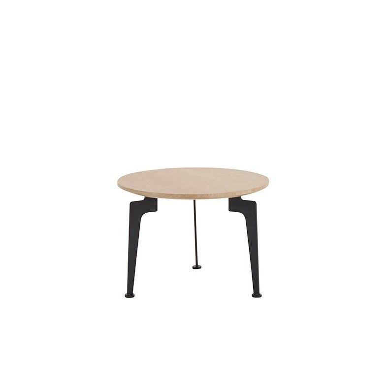 Laser Side Table Oak   Medium