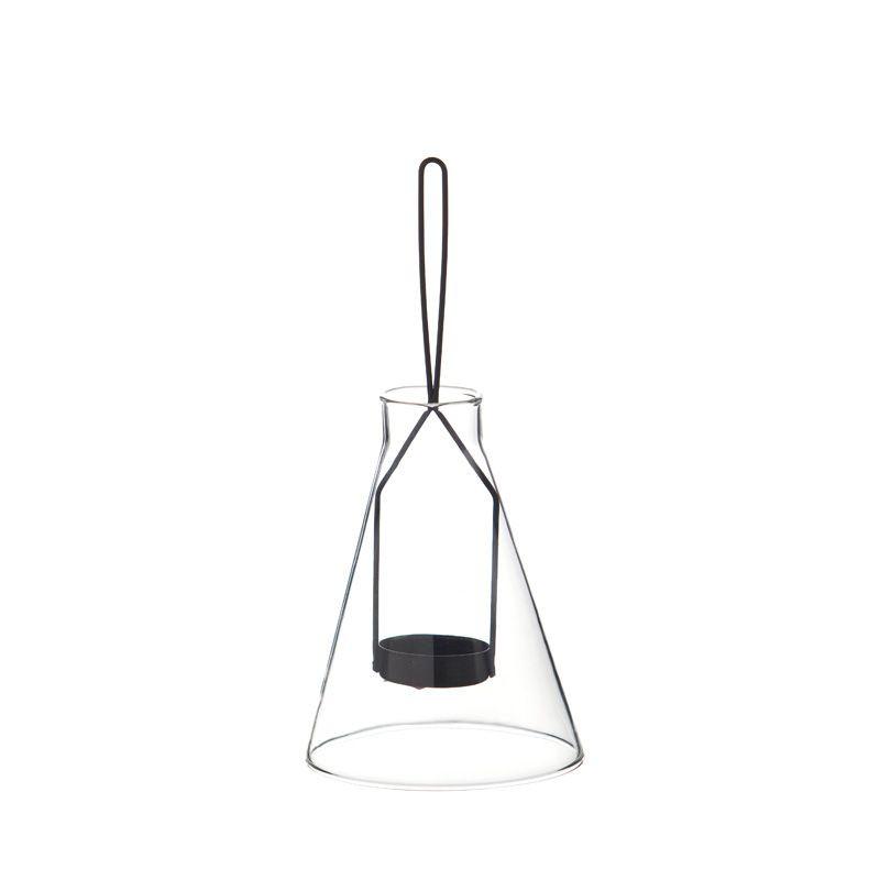 Glas-Hängekerzenhalter   Lampe