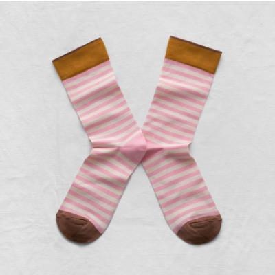 Lilac Stripe Socks
