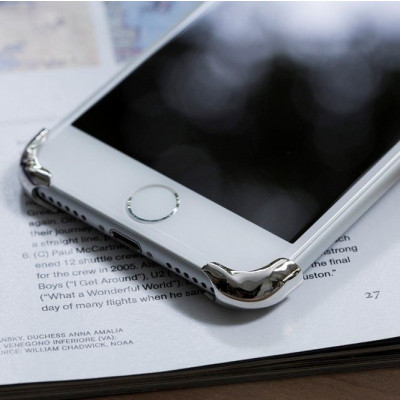 Rmour Corners | Silver White | iPhone 6s plus & 7 plus