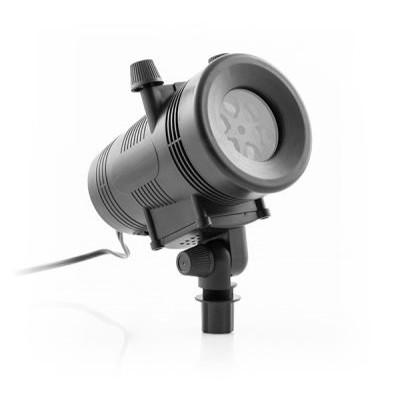 Dekorativer LED-Außenstrahler   Schwarz