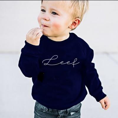 Kinder-Pullover Leef | Blau