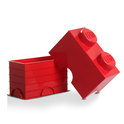 Aufbewahrungsstein 2 Medium Rot