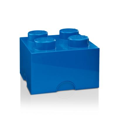 Boîte Lego® Brick 4 Large | Bleu
