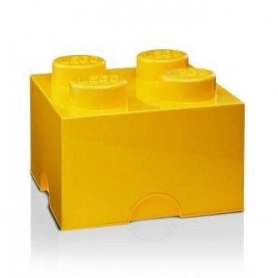 Aufbewahrungsstein 4 groß   Gelb