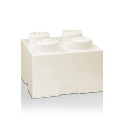 Boîte Lego® Brick 4 Large | Blanc