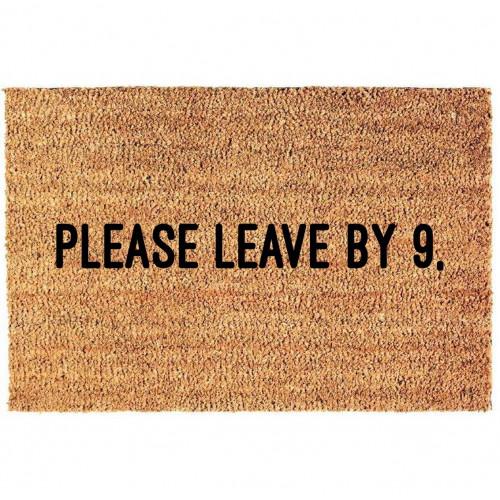 Fußmatte | Verlassen bis 9