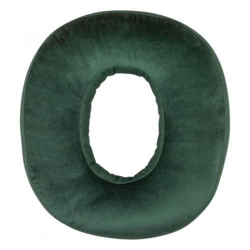 Kissen Samt Nummer Grün  | 0