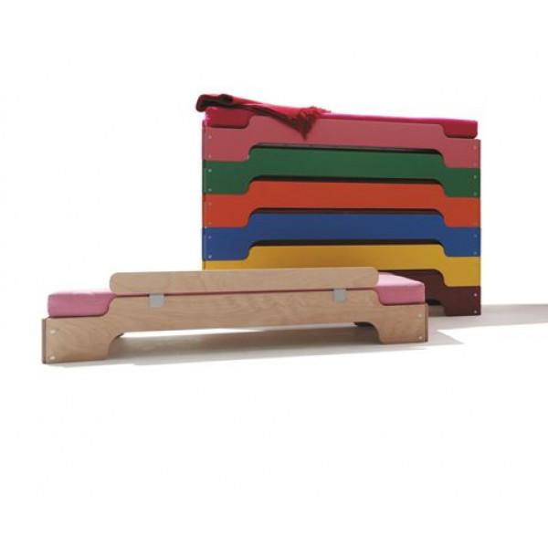 Stapelbetten für Kinder - Rot