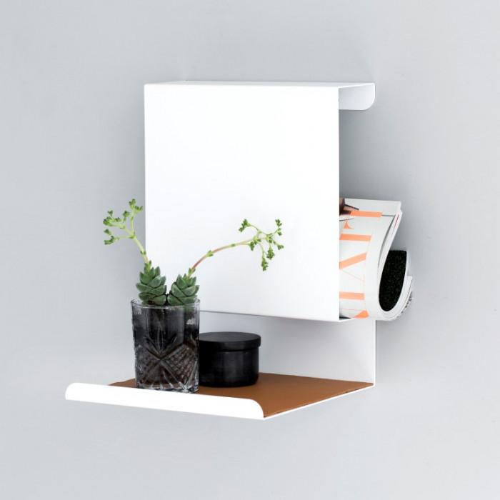 Shelf Ledge:able | White
