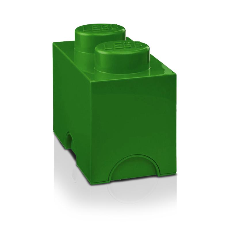 Storage Bricks 2 Medium Green