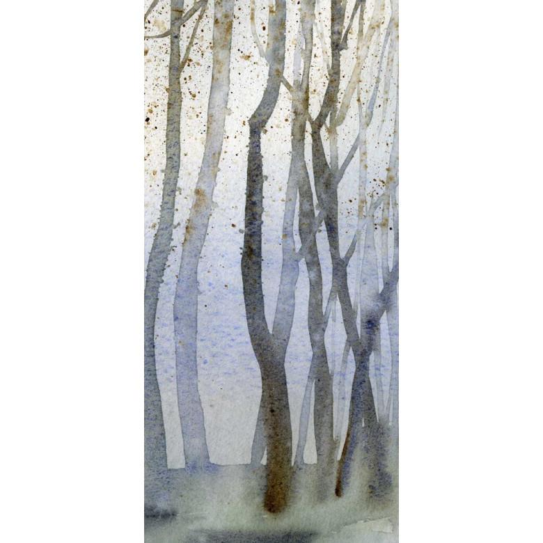 Tapete Aquarell Wald | Tag