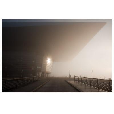 Nebel in der Oper Kunstfotografie