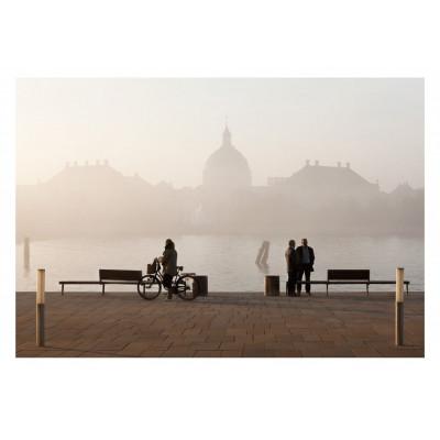 Danke für den Nebel - Marmorkirken Kunstfotografie