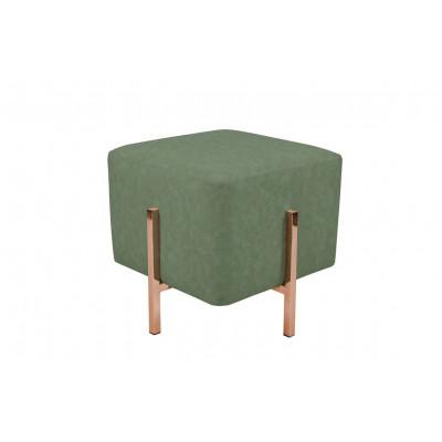 Pouf Liani | Green/Copper
