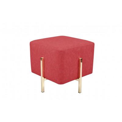 Pouf Liani | Red/Gold
