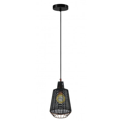 Pendant Lamp Libertas Large | Black/Copper