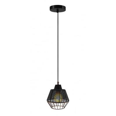 Pendant Lamp Libertas Small | Black/Copper