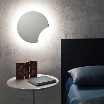 Wandlampe Lunarda   Weiß
