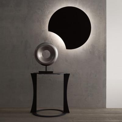 Wandlampe Lunarda   Schwarz