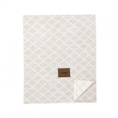 Merinowool Blanket | Light Grey - White