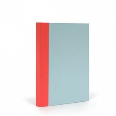 Fantasticpaper Farbe | Himmelblau & Warmes Rot A5