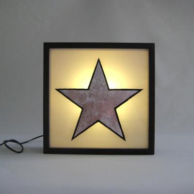 Kleiner Leuchtkasten | Stern