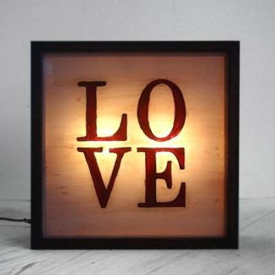 Kleine Lightbox | Liebe