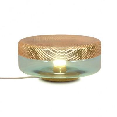 Light Drop Big Lampe | Türkis-Kupfer