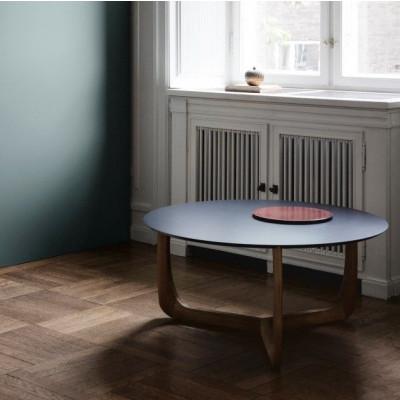 Lili Lounge Tisch | Eiche schwarz lackiert/Schwarz