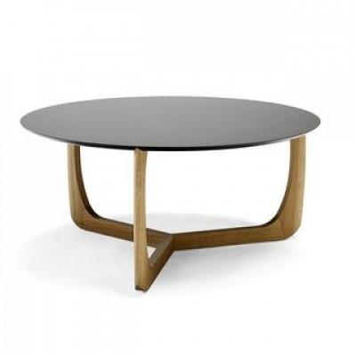 Lili Lounge-Tisch | Eiche/Schwarz