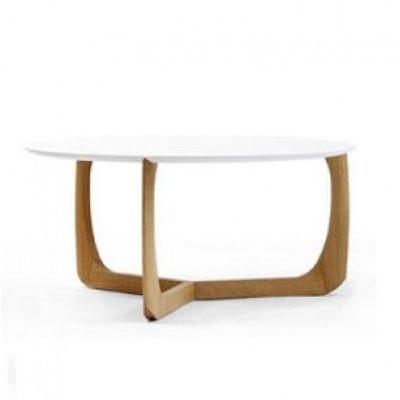 Lili Lounge-Tisch | Eiche/Weiß