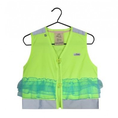 Fluo Vest Girls Lilly | Yellow