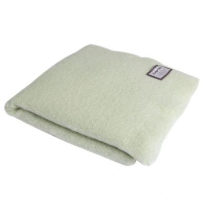 Mohair Blanket   Lime