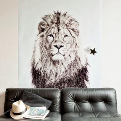 Magnettapete - Löwe