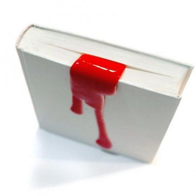 Flüssiges Buchzeichen Rot