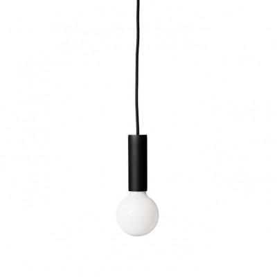 Kirsche Lampe- Schwarz