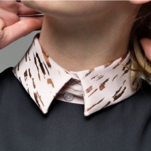 Collar 12 | Old Rose - Straight - Bronze