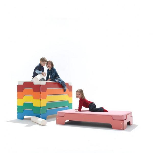 Stapelbetten für Kinder - Vintage Pink