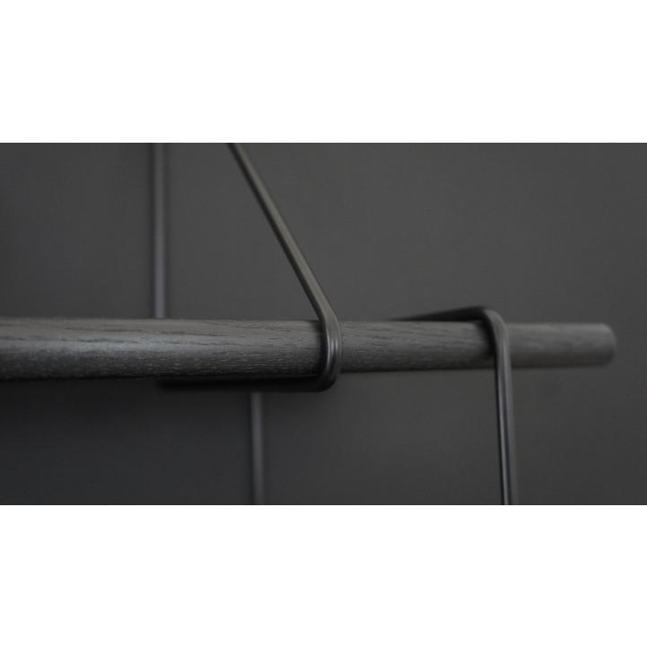 Shelving System LINK Set 1 | True Black