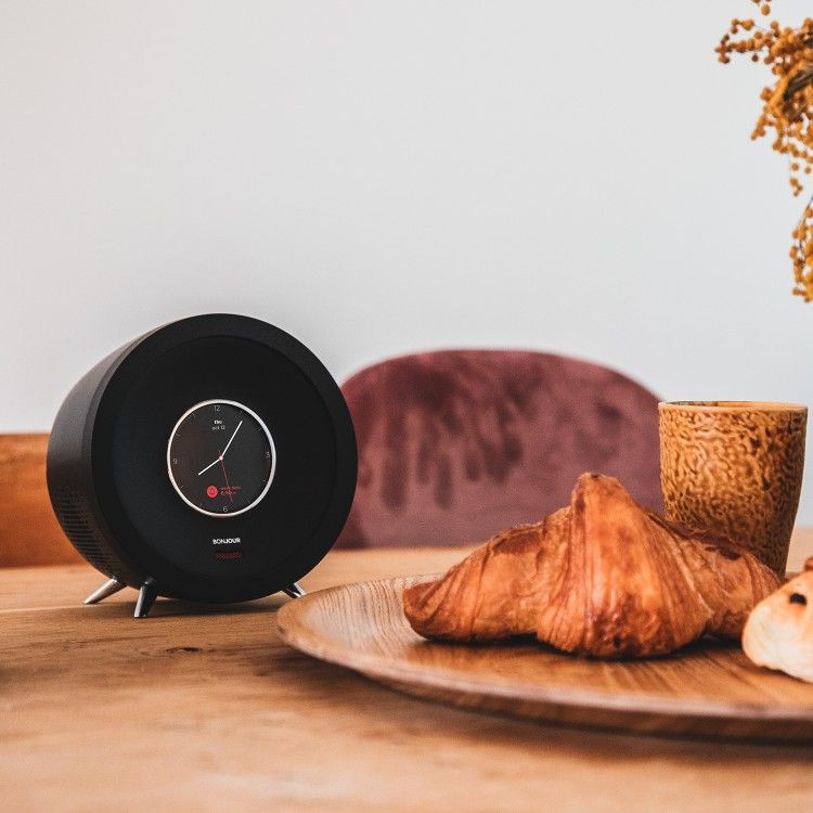 Bonjour Smart Alarm Clock | White