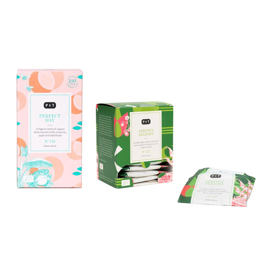 Organic Tea Set   Light & Sweet