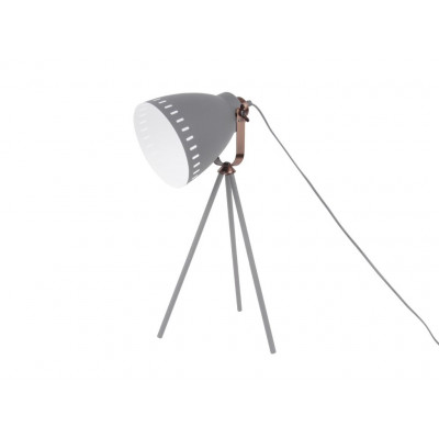 Tischleuchte Mingle Metall | Grau/Kupfer