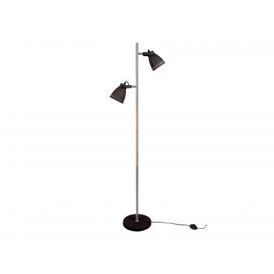 Stehlampe Mingle Eisen | Schwarz