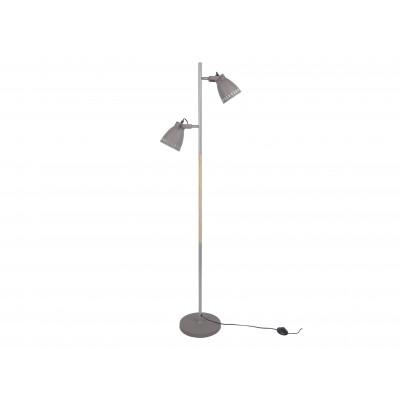 Stehlampe Mingle Eisen | Grau