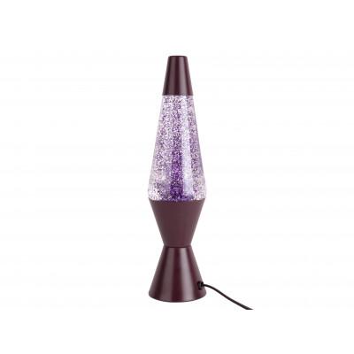 Tischlampe Glitter | Dunkel Lila